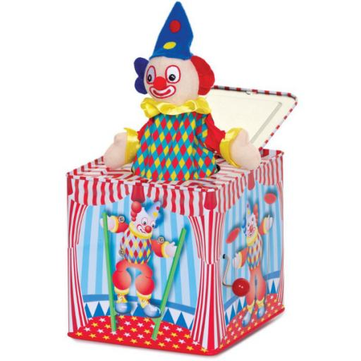 Clown Jack-in-the-Box