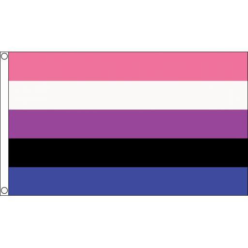 Genderfluid Flag 5ft x 3ft