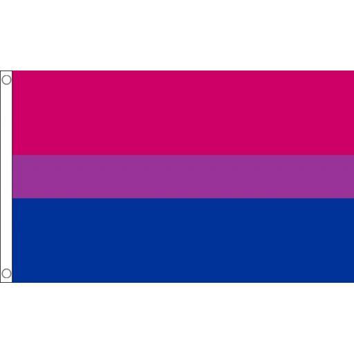Bi Pride Flag 5ft x 3ft