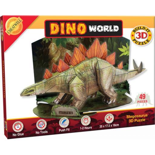 Build It 3D Puzzle Stegosaurus