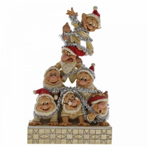Precarious Pyramid (Seven Dwarfs Figurine)