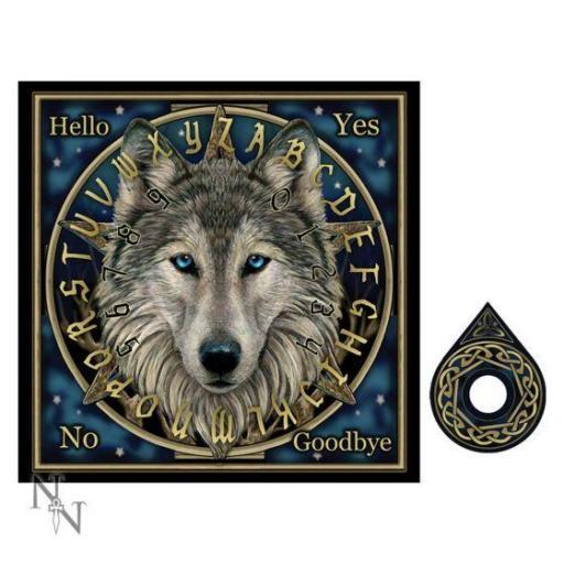 Wolf Spirit Board (LP) 38.5cm Wild One Wolf Spirit Board By LIsa Parker 38.5cm