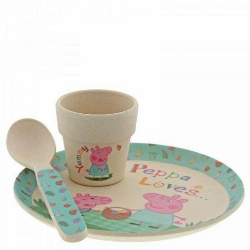 Peppa Pig Egg Cup Dinner Set