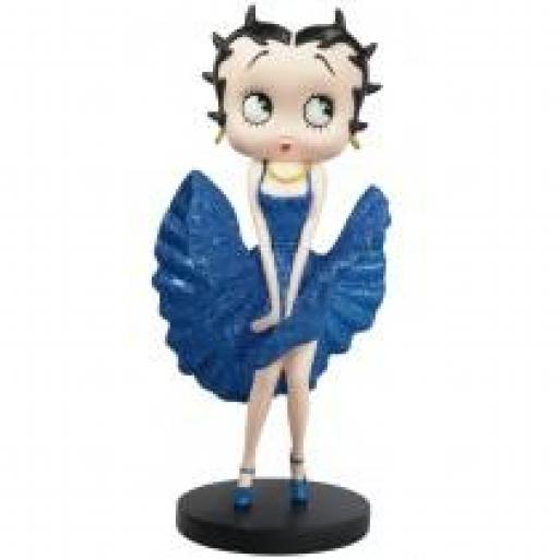 Betty Boop Cool Breeze (Blue Glitter) 32cm