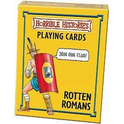 Horrible Histories Rotten Romans Card Game