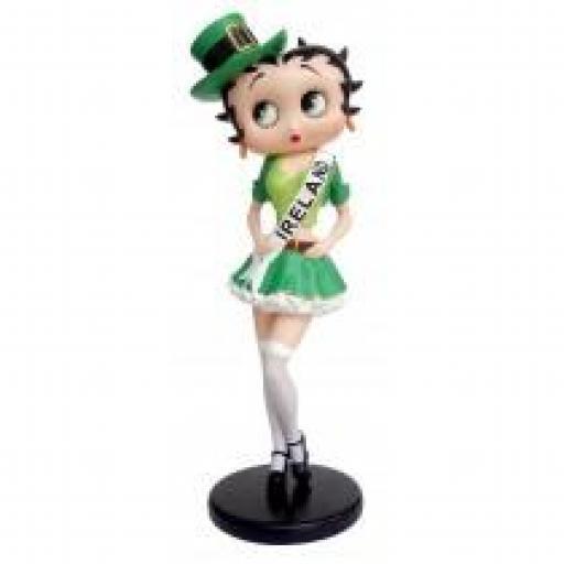 Betty Boop in Ireland Costume ** 32cm H: 32cm x W: 13cm x D: 10cm