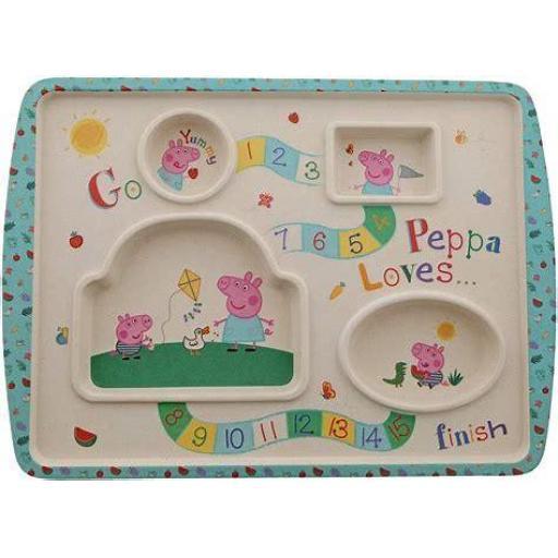 Peppa Pig Game Plate