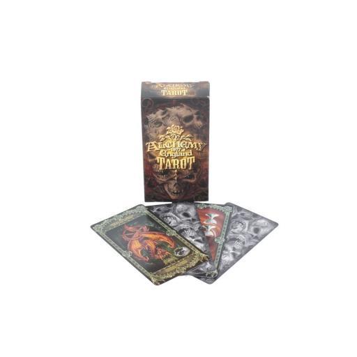 Alchemy Tarot Cards Beautifully Detailed Alchemy Gothic Tarot Deck