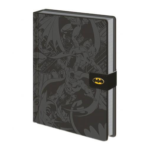 """A5 DC""""Batman Montage"""" Notebook,"""