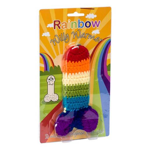 Rainbow Willy Warmer