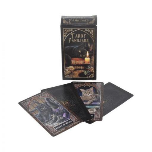 Lisa Parker Tarot Familiar Cards Familiar Gothic Fantasy Tarot Cards by Lisa Parker