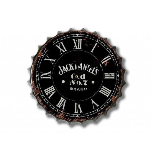 Jack Daniels Bottle Top Clock