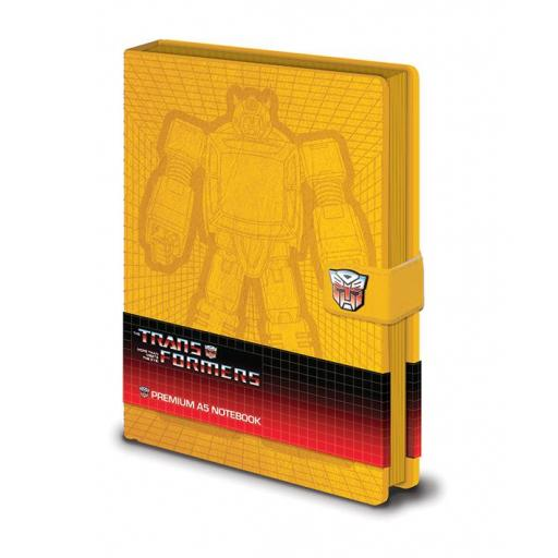 Transformers G1 - Bumblebee artwork Premium A5 Notebook