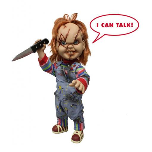 """Child's Play - Scarred Chucky 15"""" Talking Doll"""