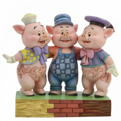 Squealing Siblings (Silly Symphony Three Little Pigs)