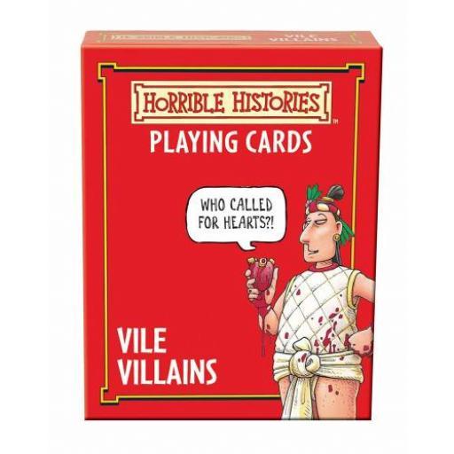 Horrible Histories Vile Villans Card Game