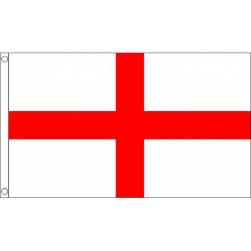 St George Flag 5ft x 3ft