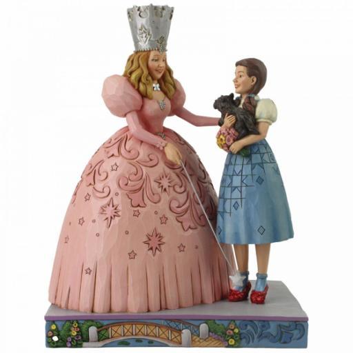 The Gift of Ruby Slippers (Glinda and Dorothy in Ruby Slipper