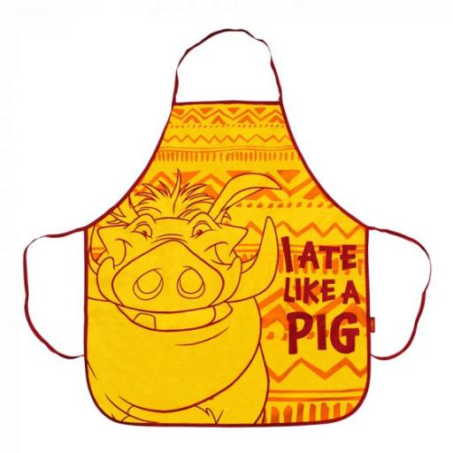 APRON BOXED - THE LION KING (PUMBA)